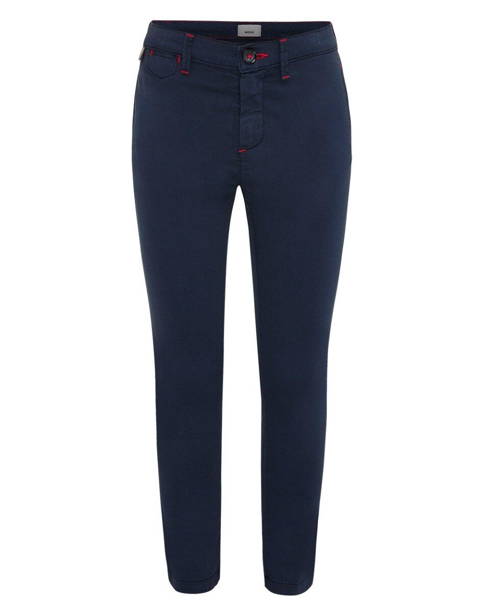 Chino broek donkerblauw