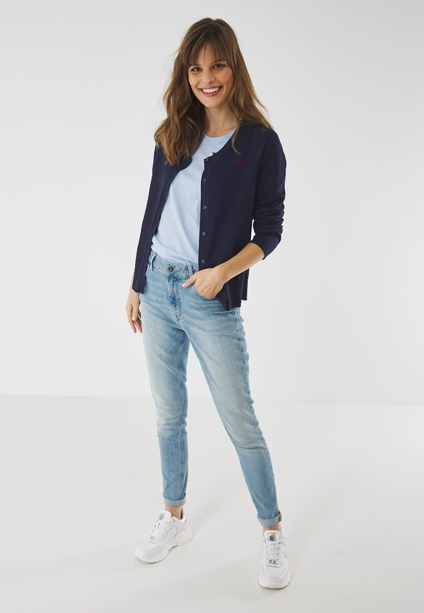 Vest Susan donkerblauw
