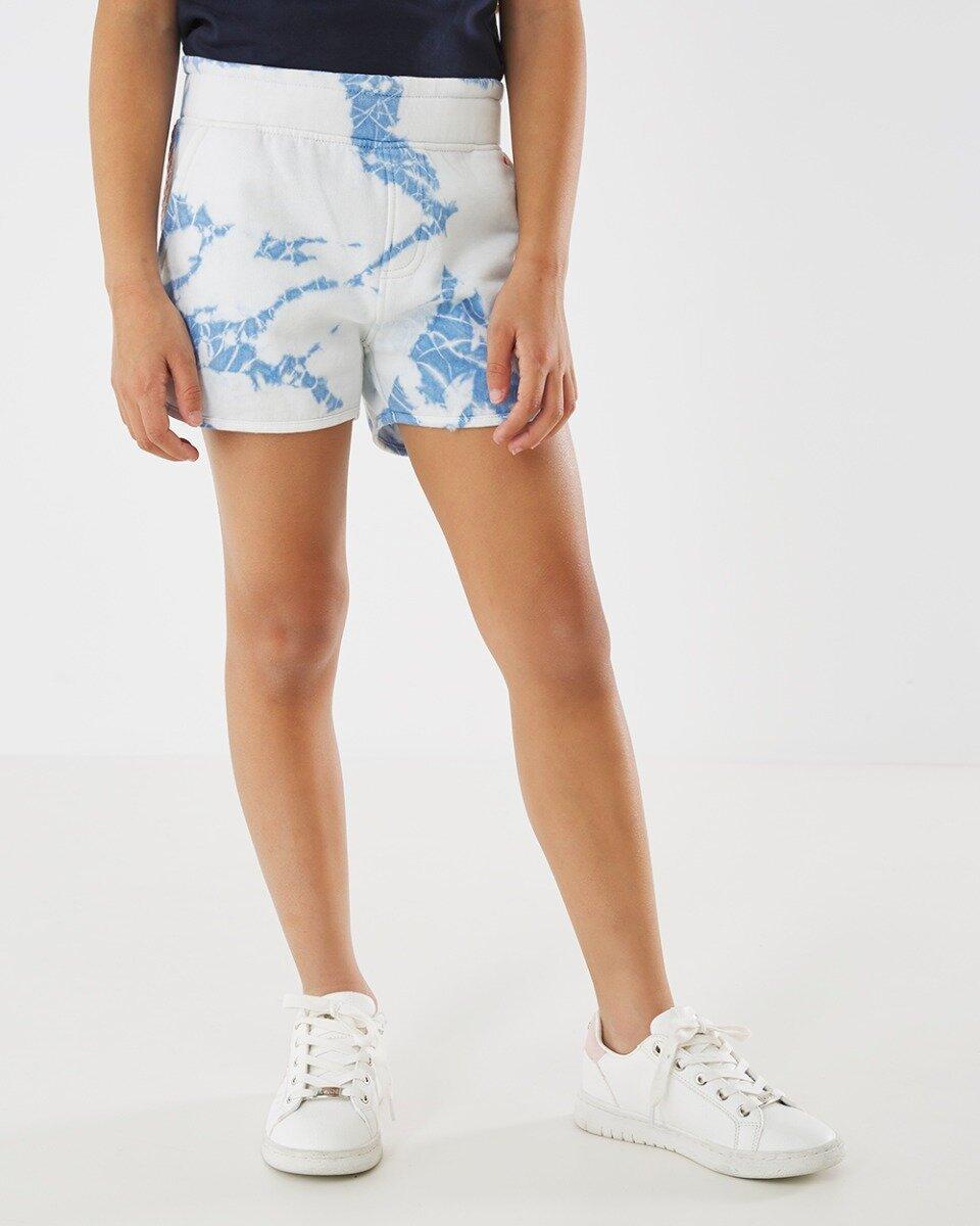 Korte broek gebroken wit