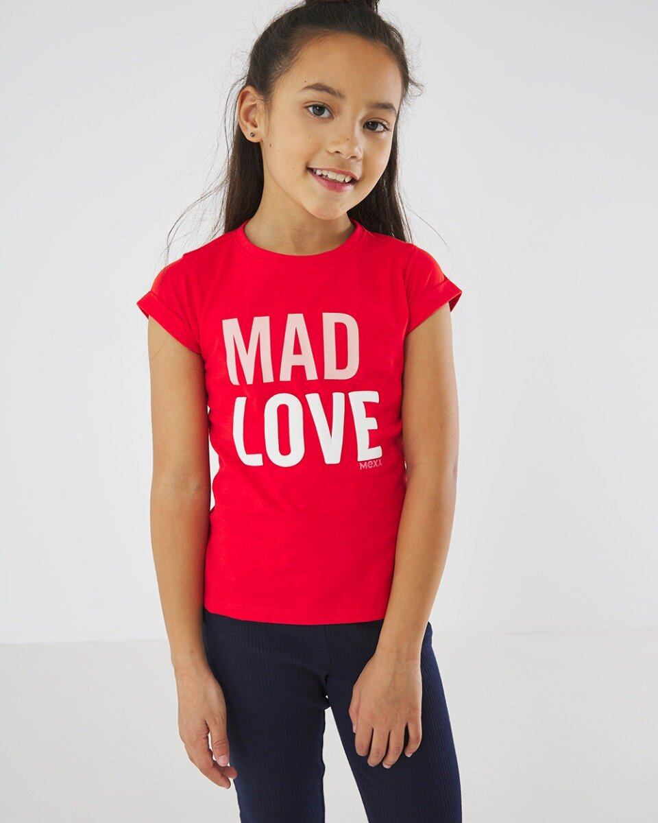 Rood T-shirt Mad Love