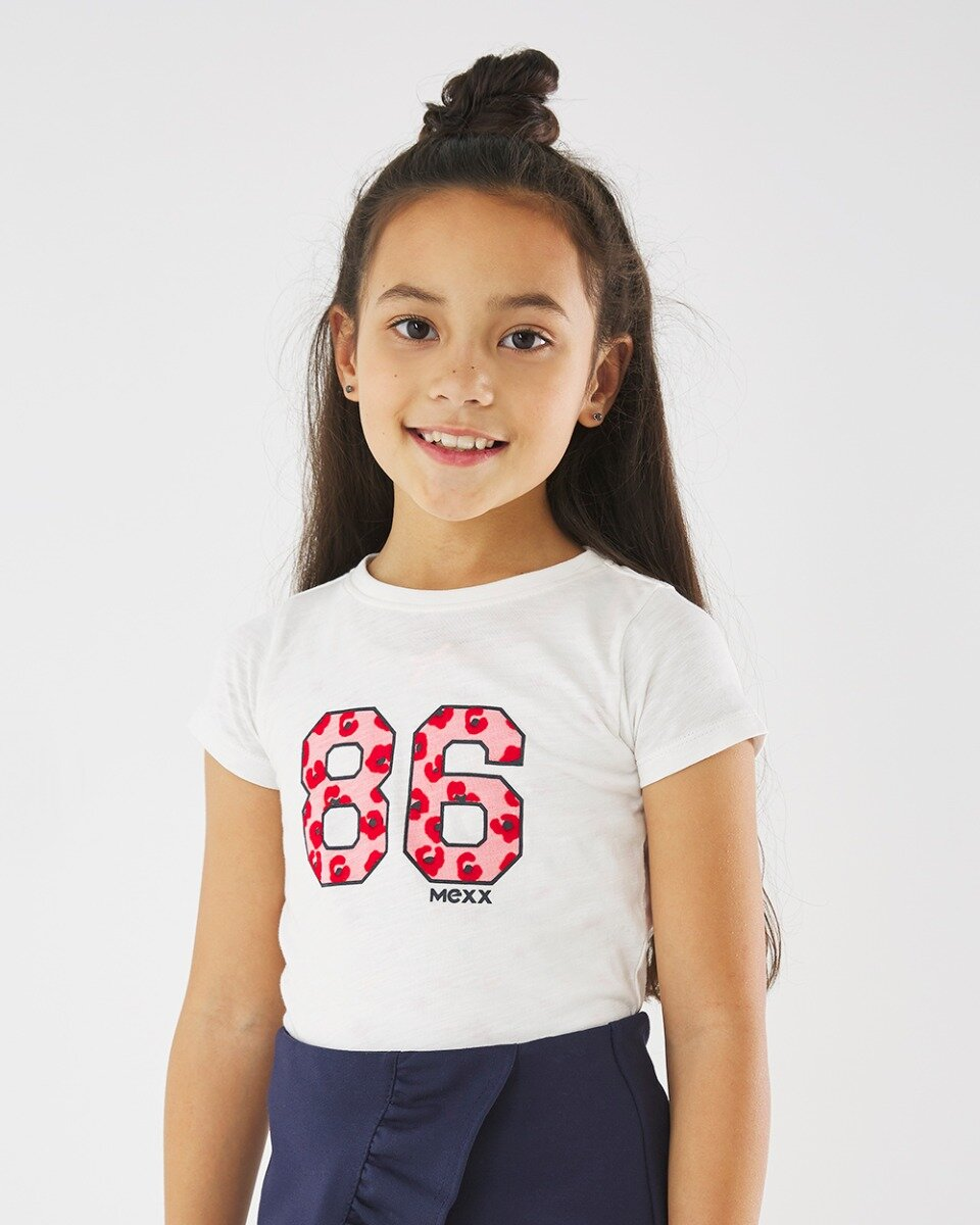 Gebroken wit T-shirt 86