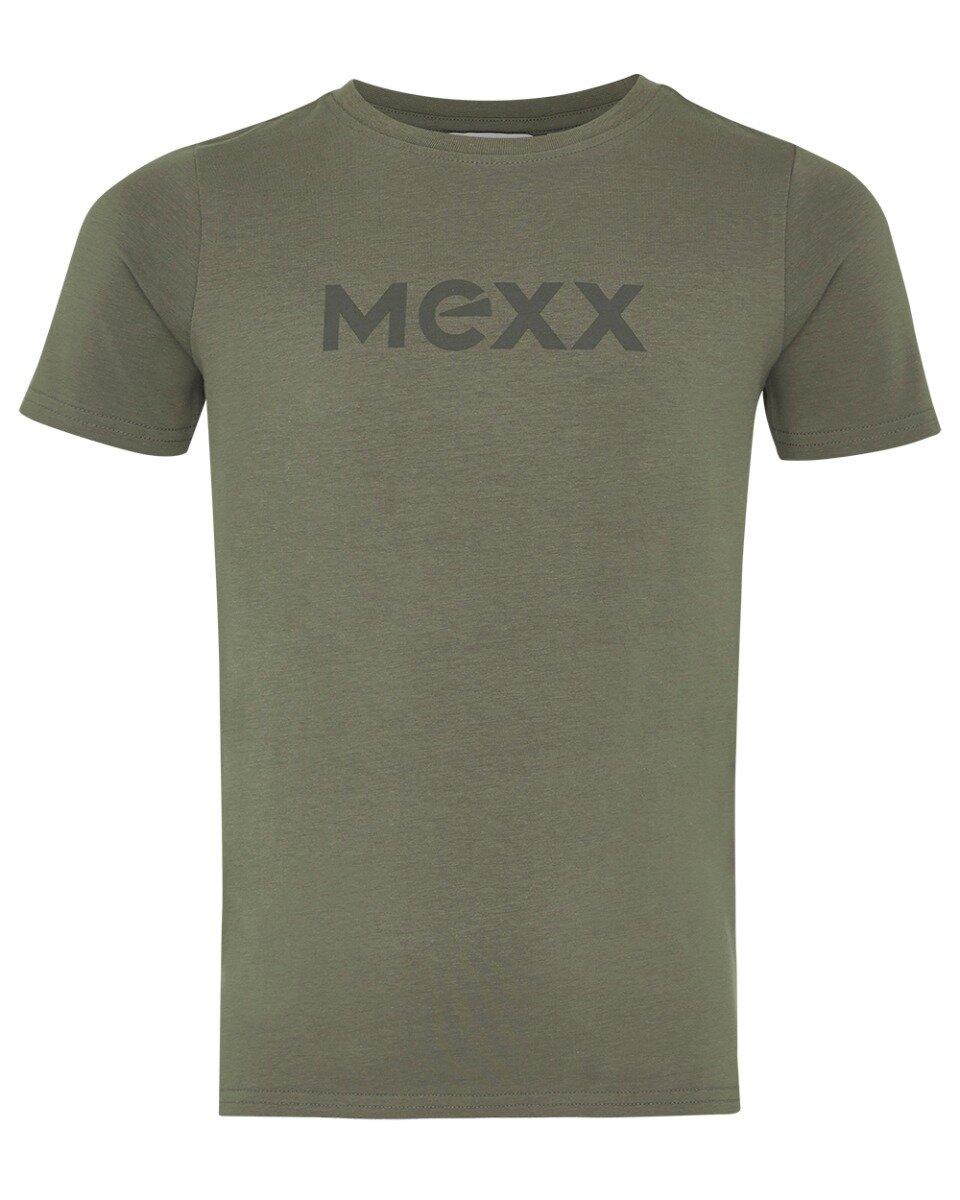 Donkergroen T-shirt met Mexx logo
