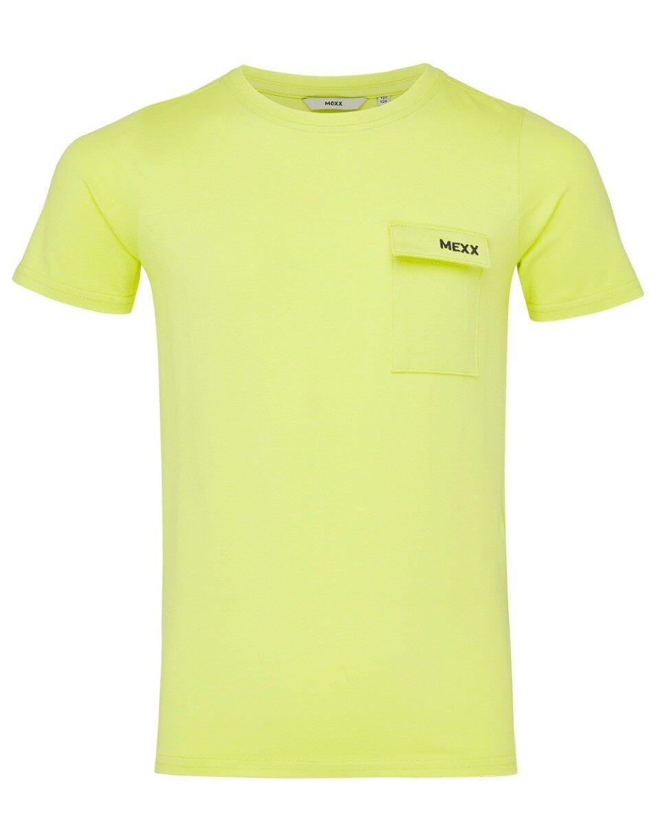 Limoengroen T-shirt met print